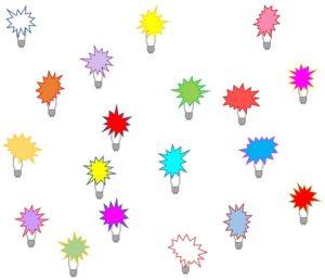 start-up, ideeenovervloed