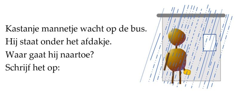 illustratie Door de Flines